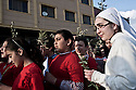 Iraq - Kurdistan - Ankawa -  Christians celebrating the Palm Sunday in the streets of Ankawa, a city mostly inhabited by Christians.