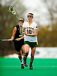 1 May 2010: University of Vermont Catamount midfielder Megan MacDonald, a Junior from Wayland, MA, in action against the University of New Hampshire Wildcats at Moulton Winder Field in Burlington, Vermont. The Lady Catamounts fell to the visiting Wildcats 18-10 in the last game of the 2010 regular season. Mandatory Photo Credit: Ed Wolfstein Photo