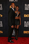 George Foreman IV and Guest _ attend the 2016 BLACK GIRLS ROCK! Hosted by TRACEE ELLIS ROSS  Honors RIHANNA (ROCK STAR AWARD), SHONDA RHIMES (SHOT CALLER), GLADYS KNIGHT LIVING LEGEND AWARD), DANAI GURIRA (STAR POWER), AMANDLA STENBERG YOUNG, GIFTED & BLACK AWARD), AND BLACK LIVES MATTER FOUNDERS PATRISSE CULLORS, OPALL TOMETI AND ALICIA GARZA (CHANGE AGENT AWARD) HELD AT NJPAC