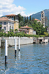 A view of Tremezzo, a town on Lake Como, Italy.
