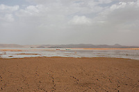 Morocco - Ouarzazate - The lake of Ouarzazate was used in several movies, including Martin Scorsese's Kundun, a 1997 movie about the life of the 14th Dalai Lama.
