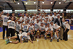 27 APR 2014: The team from Springfield College defeated Juniata  College 3-0 to capture the Division III Men's Volleyball Championships national title held at the Kennedy Sports Center in Huntingdon, PA.  Mark Selders/NCAA Photos