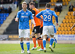St Johnstone v Dundee United...09.05.15   SPFL<br /> David Wotherspoon reacts after putting his shot over the bar<br /> Picture by Graeme Hart.<br /> Copyright Perthshire Picture Agency<br /> Tel: 01738 623350  Mobile: 07990 594431