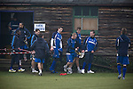 Rochdale v Tranmere Rovers preparations, 31/12/2010. Prenton Park, League One. Tranmere Rovers players leaving the club's Raby Mere training ground, as the club prepare for the following day's Npower League 1 fixture away to Rochdale. It was the first league fixture between the teams since March 1989. Rochdale won this latest encounter by three goals to two watched by a crowd of 5,500. Photo by Colin McPherson.