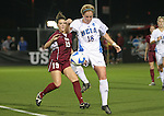 07 December 2007: UCLA's Kylie Wright (18) and USC's Megan Ohai (19). The University of Southern California Trojans defeated the University of California Los Angeles Bruins 2-1 at the Aggie Soccer Stadium in College Station, Texas in a NCAA Division I Womens College Cup semifinal game.