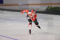 SCHAATSEN: CALGARY: Olympic Oval, 09-11-2013, Essent ISU World Cup, 500m, Kaitlyn McGregor (SUI), ©foto Martin de Jong