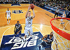 Dec. 29, 2010; Scott Martin shoots vs. Georgetown...Photo by Matt Cashore