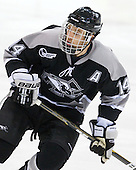 Ben Farrer (Providence - 14) - The Northeastern University Huskies defeated the visiting Providence College Friars 5-0 on Saturday, November 20, 2010, at Matthews Arena in Boston, Massachusetts.