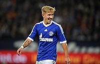 FUSSBALL   1. BUNDESLIGA  SAISON 2012/2013   7. Spieltag   FC Schalke 04 - VfL Wolfsburg        06.10.2012 Jefferson Farfan (FC Schalke 04)
