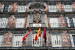 Europe, Spain, Madrid. Plaza Mayor, Madrid.