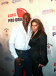NFL Hall of Fame Member and Dancing With the Stars Contestant Jerry Rice and Latisha Pelayo Attends ESPN The Magazine's Annual Pre-Draft Party, at ESPACE Featuring Music Provided by ?uestLove, New York  4/27/11