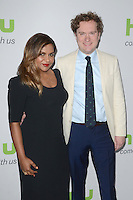BEVERLY HILLS, CA - AUGUST 05: Mindy Kaling and Matt Warburton at Hulu's Summer 2016 TCA at The Beverly Hilton Hotel on August 5, 2016 in Beverly Hills, California. Credit: David Edwards/MediaPunch