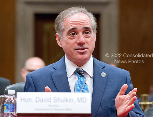 United States Secretary of Veterans Affairs David J. Shulkin, M.D., testifies before the US Senate Committee on Appropriations Subcommittee on Military Construction, Veterans Affairs, and Related Agencies on &quot;Reducing Burden &amp; Increasing Access to Healthcare: Improving VA Community Care&quot; on Capitol Hill in Washington, DC on Thursday, May 11, 2017.<br /> Credit: Ron Sachs / CNP<br /> (RESTRICTION: NO New York or New Jersey Newspapers or newspapers within a 75 mile radius of New York City)