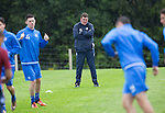 St Johnstone Training&hellip;22.07.16<br />Manager Tommy Wright watches his players during training this morning at McDiarmid Park ahead of tomorrows Betfred Cup game against Falkirk.<br />Picture by Graeme Hart.<br />Copyright Perthshire Picture Agency<br />Tel: 01738 623350  Mobile: 07990 594431