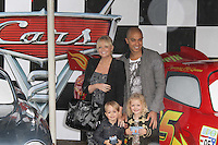 Emma Bunton; Jade Jones Cars 2 UK Premiere, Whitehall Gardens, London, UK, 17 July 2011:  Contact: Rich@Piqtured.com +44(0)7941 079620 (Picture by Richard Goldschmidt)