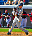 8 March 2009: New York Mets' outfielder Sean Ratliff in action during a Spring Training game against the Washington Nationals at Space Coast Stadium in Viera, Florida. The Nationals defeated the Mets 8-3 in the Grapefruit League matchup. Mandatory Photo Credit: Ed Wolfstein Photo