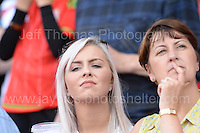 Fans join in with the celebrations during the homecoming celebrations at the Cardiff City stadium on Friday 8th July 2016 for the Euro 2016 Wales International football squad.<br /> <br /> <br /> Jeff Thomas Photography -  www.jaypics.photoshelter.com - <br /> e-mail swansea1001@hotmail.co.uk -<br /> Mob: 07837 386244 -