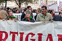 Roma, 24 Novembre 2012..Presidio e corteo antifascista contro la manifestazione di Casapound...