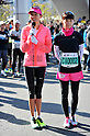 (L to R) Jessica Michibata, Misako Yasuda,.MARCH 11, 2011 - Marathon : Nagoya Women's Marathon 2012 Start &amp; Goal at Nagoya Dome, Aichi, Japan. (Photo by Jun Tsukida/AFLO SPORT)[0003].