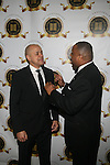 David Ushery and Fitzgerald Miller Attend the One Hundred Black Men, Inc. 33rd Annual Benefit Gala Honoring The Hon. David N. Dinkins, Former New York City Mayor and One Hundred Black Men Founder, The Hon. H. Carl McCall, Former New York State Comptroller and Chairman, Board of Trustees, SUNY, Kevin Newell, Executive Vice President and Global Chief Brand Officer, McDonald's Corporation Vivian Pickard, President of GM Foundation, General Motors Corporation, James Reynolds, Jr., Chairman & CEO, Loop Capital Markets Held at New York Marriott Marquis, NY   2/21/13