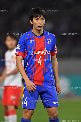 Hideto Takahashi (FC Tokyo), MAY 23, 2015 - Football / Soccer : 2015 J1 League 1st stage match between F.C.Tokyo 0-1 Nagoya Grampus at Ajinomoto Stadium in Tokyo, Japan. (Photo by AFLO)