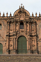 Peru, Cusco.  The Cathedral, 16th. century.