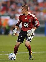 DC United goalkeeper Troy Perkins (23).  Seattle Sounders defeated DC United 1-0 at RFK Stadium, Thursday July 15, 2010.