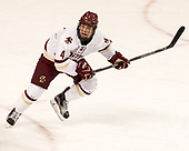 Michael Kim (BC - 4) - The visiting Boston University Terriers defeated the Boston College Eagles 3-0 on Monday, January 16, 2017, at Kelley Rink in Conte Forum in Chestnut Hill, Massachusetts.