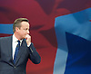 David Cameron leader's speech at Conservative Party Conference, manchester, Great Britain <br /> 7th October 2015 <br /> <br /> David Cameron <br /> Prime Minister and leader of the Conservative party <br /> <br /> Photograph by Elliott Franks <br /> Image licensed to Elliott Franks Photography Services