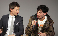 NEW YORK, NY November 09: Eddie Redmayne, Ezra Miller  at Apple presents Meet the Cast of Fantastic Beasts and Where to Find Them at Apple Soho  in New York .November 09, 2016. Credit:RW/MediaPunch