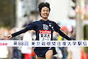 Ryuji Kashiwabara (Toyo-Univ), January 2, 2012 - Athletics : .The 88th Hakone Ekiden Race, The 5th Section Goal .at Hakone Ashino-Lake, Kanagawa, Japan. (Photo by Daiju Kitamura/AFLO SPORT) [1045]