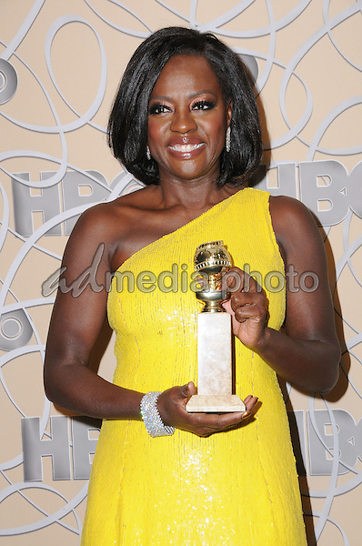 08 January 2017 - Beverly Hills, California - Viola Davis. HBO's Official 2017 Golden Globe Awards After Party held at the Beverly Hilton Hotel Photo Credit: Birdie Thompson/AdMedia