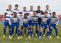 06 April 2013: The starting eleven for FC Dallas during an MLS game between FC Dallas and Toronto FC at BMO Field in Toronto, Ontario Canada..The game ended in a 2-2 draw..