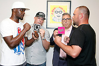 PHILADELPHIA, PA - JUNE 22 :  Uber Driver George Robertson Storm will take on Lyft driver Danny Mac press conference pictured at Jason Fine law office in Philadelphia, Pa on June 22, 2016 photo credit Star Shooter / MediaPunch