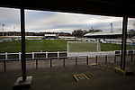 Chorley 2 Altrincham 0, 21/01/2017. Victory Park, National League North. A view of Victory Park, before Chorley played Altrincham in a Vanarama National League North fixture. Chorley were founded in 1883 and moved into their present ground in 1920. The match was won by the home team by 2-0, watched by an above-average attendance of 1127. Photo by Colin McPherson.