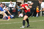 04 October 2009: Maryland's Danielle Hubka. The University of Maryland Terrapins defeated the Duke University Blue Devils 4-0 at Koskinen Stadium in Durham, North Carolina in an NCAA Division I Women's college soccer game.