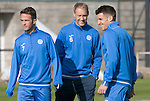 St Johnstone Training&hellip;.30.09.16<br />Steven Anderson pictured during training this morning with Chris Millar and Michael Coulson<br />Picture by Graeme Hart.<br />Copyright Perthshire Picture Agency<br />Tel: 01738 623350  Mobile: 07990 594431