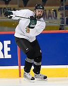 Joe Finley (North Dakota 2) - The 2008 Frozen Four participants practiced on Wednesday, April 9, 2008, at the Pepsi Center in Denver, Colorado.