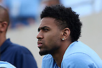 19 September 2015: UNC basketball player Joel Berry II watches the game. The University of North Carolina Tar Heels hosted the University of Illinois Fighting Illini at Kenan Memorial Stadium in Chapel Hill, North Carolina in a 2015 NCAA Division I College Football game. UNC won the game 48-14.