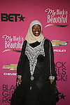 """Ameena Mathews Attends """"BLACK GIRLS ROCK!"""" Honoring legendary singer Patti Labelle (Living Legend Award), hip-hop pioneer Queen Latifah (Rock Star Award), esteemed writer and producer Mara Brock Akil (Shot Caller Award), tennis icon and entrepreneur Venus Williams (Star Power Award celebrated by Chevy), community organizer Ameena Matthews (Community Activist Award), ground-breaking ballet dancer Misty Copeland (Young, Gifted & Black Award), and children's rights activist Marian Wright Edelman (Social Humanitarian Award) Hosted By Tracee Ellis Ross and Regina King Held at NJ PAC, NJ"""