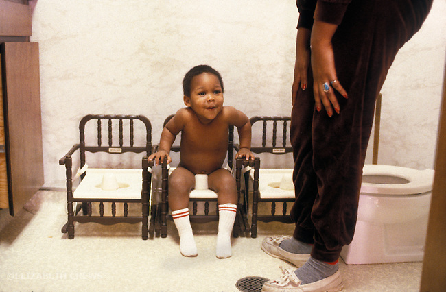 Oakland CA Boy around age two, being toilet trained at day care  MR