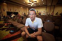 Marino Vanhoenacker at the press conf