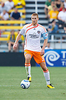 24 JULY 2010:  Andrew Hainault of the Houston Dynamo (31) during MLS soccer game between Houston Dynamo vs Columbus Crew at Crew Stadium in Columbus, Ohio on July 3, 2010. Columbus defeated the Dynamo 3-0.