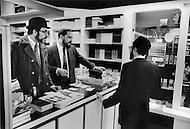 Paris, August 1977. Librairie De La Rue Richer.