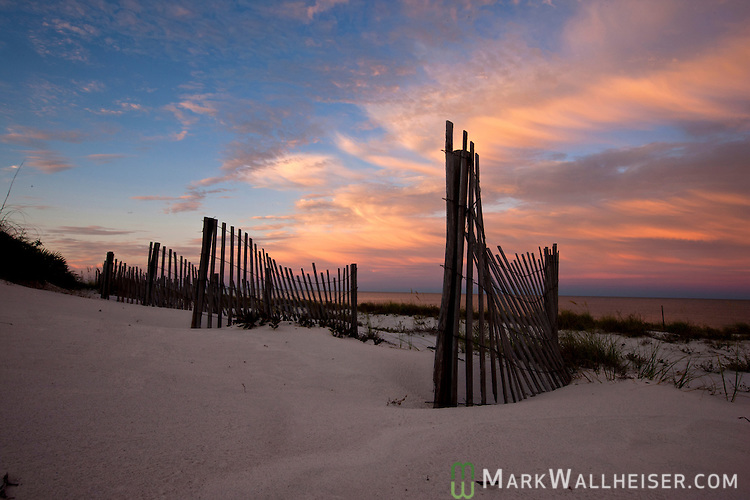 Bald Point along the Forgotten Coast in Franklin County, Florida south of Tallahassee.