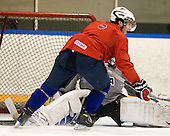 Kyle Palmieri (USA - 23) - Team USA practiced at the Agriplace rink on Monday, December 28, 2009, in Saskatoon, Saskatchewan, during the 2010 World Juniors tournament.