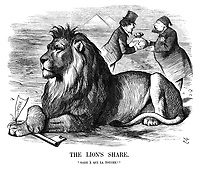 "The Lion's Share. ""Gare a qui la touche!"""