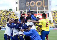Ecuador (ECU) vs Uruguay (URU), Quito, 12-11-2015.