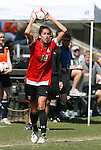 04 October 2009: Maryland's Lydia Hastings. The University of Maryland Terrapins defeated the Duke University Blue Devils 4-0 at Koskinen Stadium in Durham, North Carolina in an NCAA Division I Women's college soccer game.