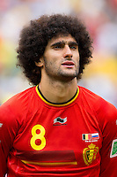 Marouane Fellaini of Belgium
